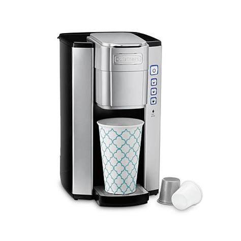 Cuisinart Compact Single Serve Coffee Maker   8012399   HSN