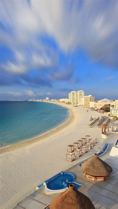 Cancun Mexico Beaches Tourism Travel Resort Beach