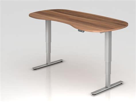 bureau assis debout electrique bureau assis debout électrique courbe adapt achat