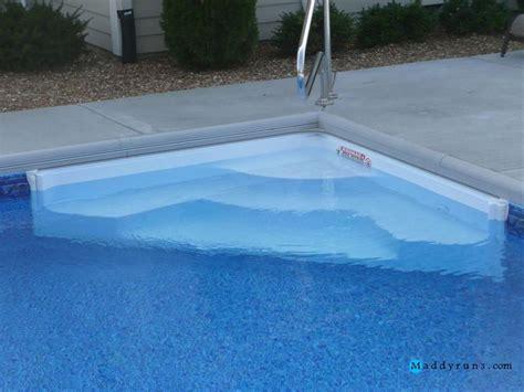 Swimming Pool Steps Inground Retrofit