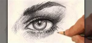 How to Draw a realistic female eye « Drawing ...