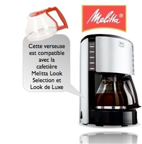 melitta look selection verseuse melitta pour look selection look de luxe m651 m652