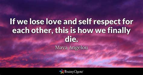 lose love   respect