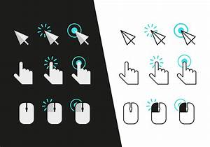 Mouse Click Icons Vector - Download Free Vector Art, Stock ...