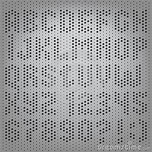 perforated carbon alphabet letters stock vector image With perforated letters