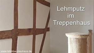 Lehmputz Im Bad : lehmputz im treppenhaus fachwerk verputzen frankfurt ~ Michelbontemps.com Haus und Dekorationen