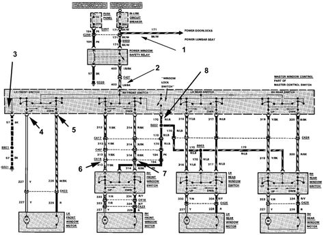 2001 Ford Mustang Power Window Wiring Diagram by 1989 Mustang Convertible Power Windows Not Working