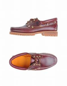 Timberland Moccasins In Brown For Men Maroon Lyst