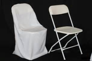 4018 white chair cover for folding chair