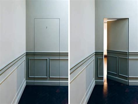 Invisible Doors Turn A Modern Home Into An Artistic Feat Of Design by 25 Ideas Enhancing Modern Room Design With Invisible Or