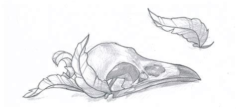 Raven Skull By Klosmagda On Deviantart