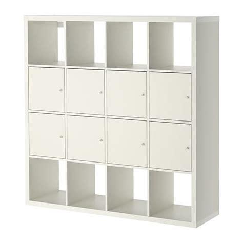 Kallax Étagère Avec 8 Accessoires  Blanc Ikea