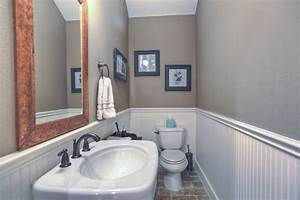 how to install wainscoting in bathroom the clayton design With installing wainscoting in bathroom