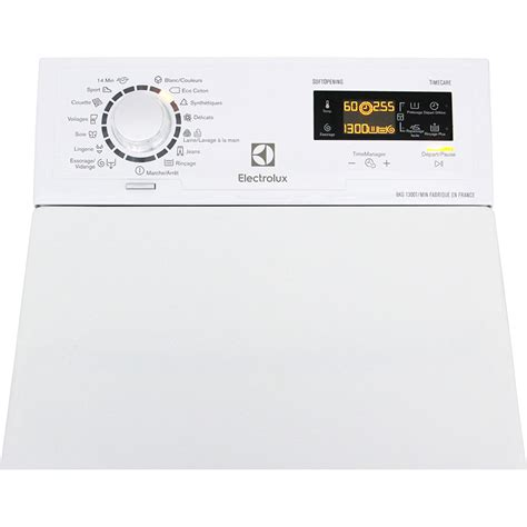 test electrolux ewt1367hzw lave linge ufc que choisir