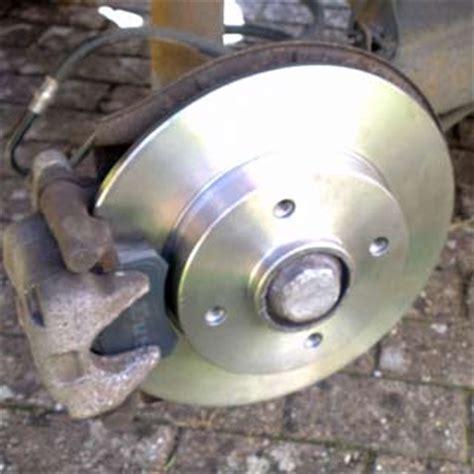 peugeot  rear brake disc replacement guide