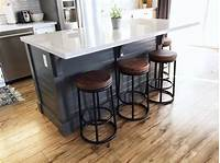 how to build a kitchen island A DIY Kitchen Island: Make it yourself and Save Big ...