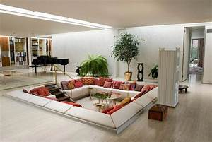 Wohnzimmer Einrichten Gemütlich : 50 einrichtungsideen f r wohnzimmer mit gem tlicher deko ~ Indierocktalk.com Haus und Dekorationen