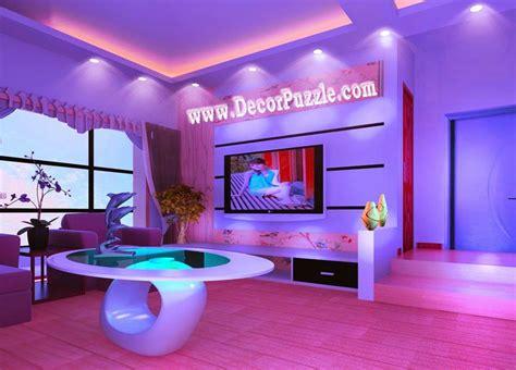 Latest Pop False Ceiling Design Catalogue With Led Lights