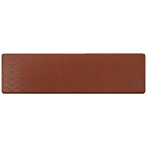 gelpro basketweave comfort floor mat gelpro elite vintage leather 20 in x 72 in