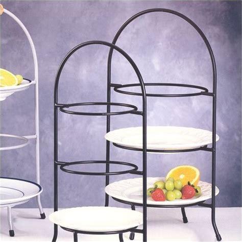 creative home iron works  tier dessert plate rack reviews wayfair