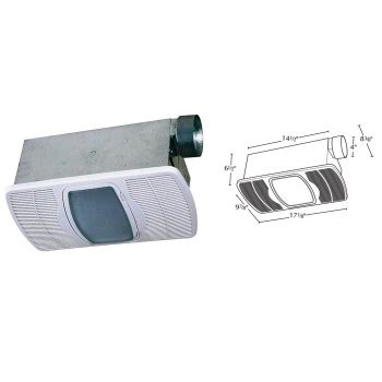 Bathroom Light And Exhaust Fan Combination by Buy The Air King Ventilation 690100 Combination Exhaust