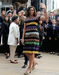 Michelle Obama Italy Wears Missoni Dress in Italy | InStyle.com