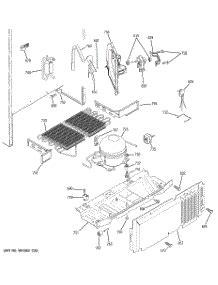 parts  ge gthibxcrww refrigerator