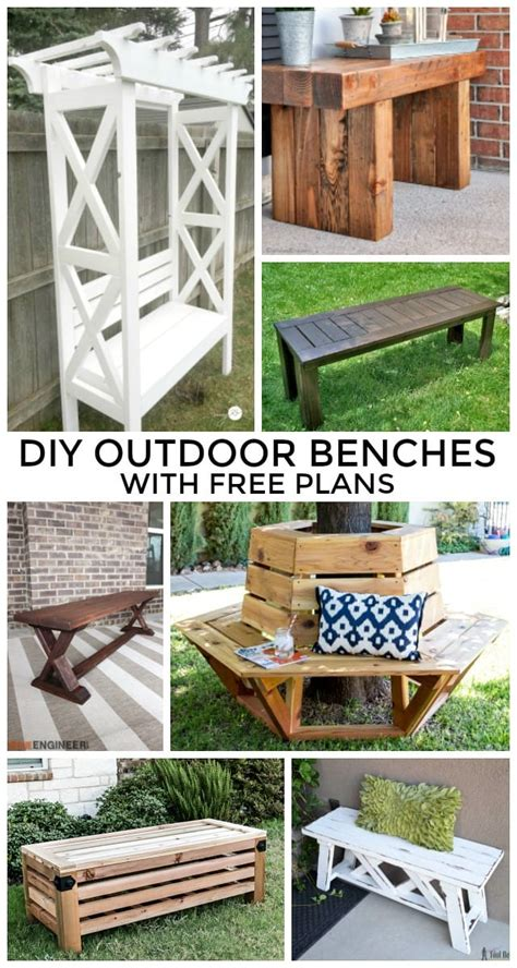 diy outdoor benches   plans jaime costiglio