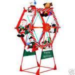 7 ft animated ferris wheel outdoor christmas huge new 12 31 2008