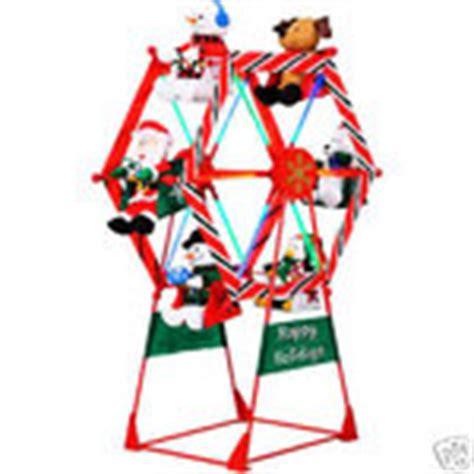 7 ft animated ferris wheel outdoor christmas huge new 12