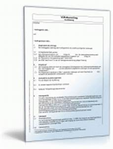 Vob Bauvertrag Vob Bauvertrag Muster Zum Download Vob Bauvertrag