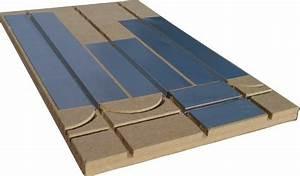 Plaque D Isolation Au Sol : caleosol plancher chauffant sec mince faible paisseur ~ Premium-room.com Idées de Décoration
