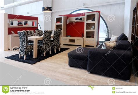 Stylish Living Room Furniture Stock Photo Image 40923186