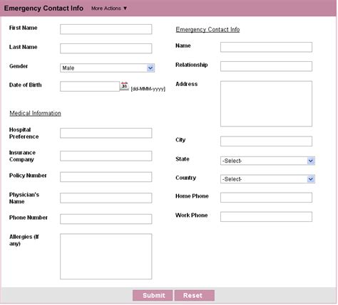 simple contact form customer contact form html form builder free web form