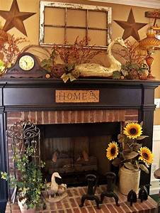 country decorating ideas for fall