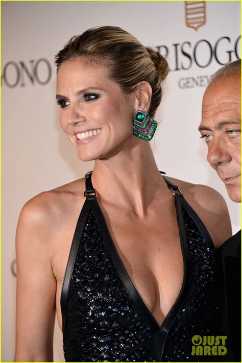 Heidi Klum Bonjour Cannes Photo