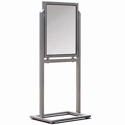 Sign Holder Outdoor Stand Heavy Duty Weather