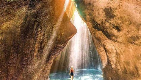 tukad cepung waterfall trekking bali custom