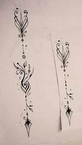Dessin Fleche Tatouage : les 25 meilleures id es de la cat gorie tatouage fl che c tes sur pinterest tatouages de ~ Melissatoandfro.com Idées de Décoration