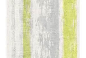 muster tapete wohnzimmer schöner wohnen muster strukturtapete tapete gelb grau grün hertie de