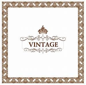 Vintage frame vector-9 | Vector Sources