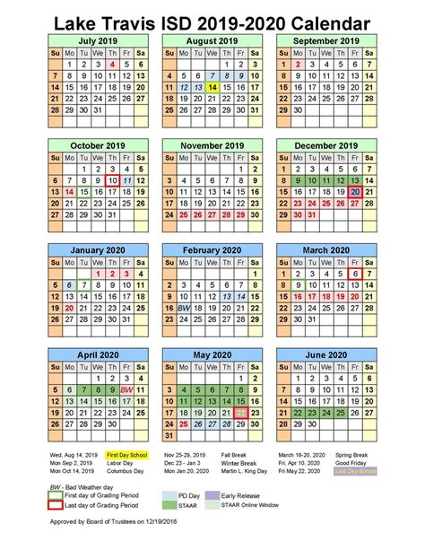 school board approves instructional calendar school matters