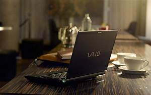 Laptop Sony on the table wallpapers and images ...