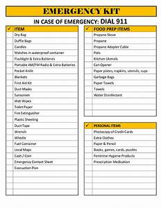 the lovebug blog With emergency response checklist template