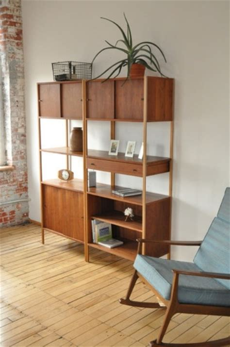 Original Mid Century Modern Bookcases Youll