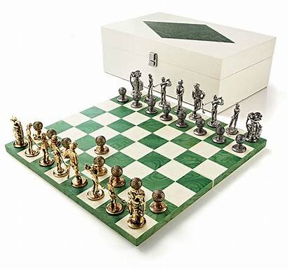 Chess Golf Pieces Fancy Board Sets Themed