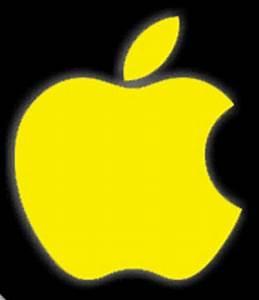 Yellow Apple logo -Logo Brands For Free HD 3D