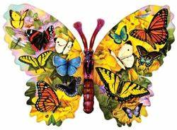 Butterfly Menagerie Jigsaw Puzzle