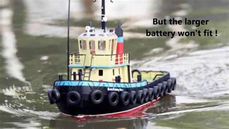 Boat R Upgrade by Buxton Model Boat Club Southton Tug Boat Upgrade