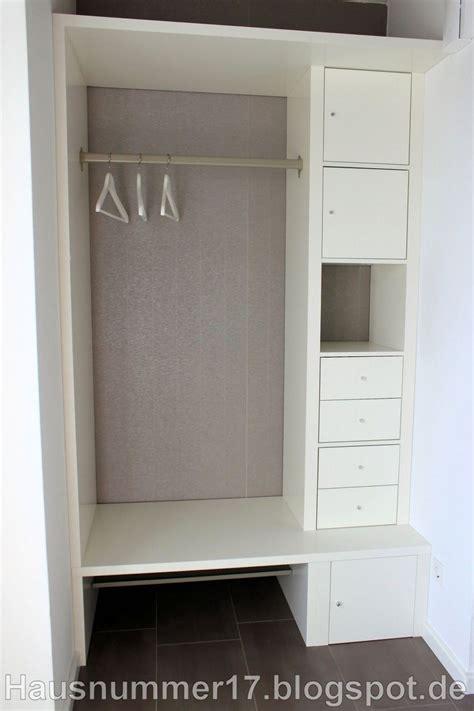 Schrank Für Den Flur by Baublog Hausnummer 17 Ikea Hack Eine Flur Garderobe